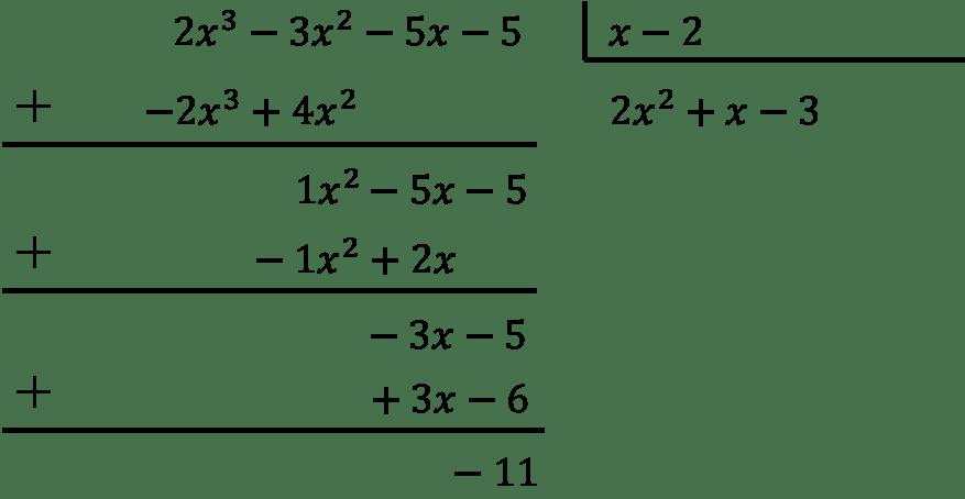 ejercicios resueltos paso a paso de division de polinomios